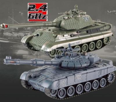 RC Súbojové tanky na ovládanie, UF: Russian T90 v2 a German King Tiger v2
