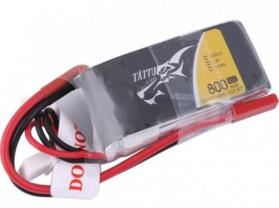 Akumulator LiPo 800mAh 7.4V 45C TATTU - JST-SYP