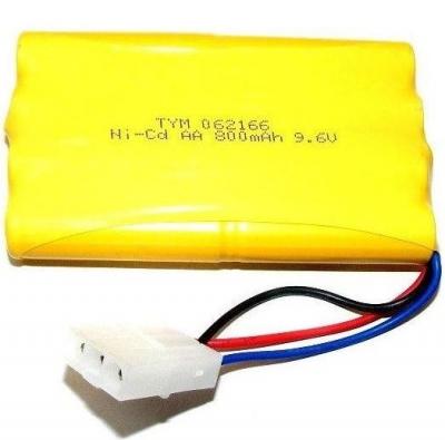 Batéria NiCd 800mAh 9.6V Tamiya 3 pin