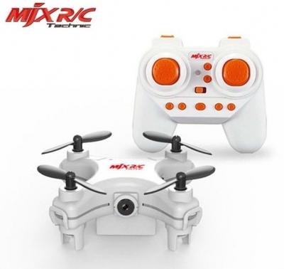 RC mini dron MJX X905C, HD Camera + SD 4GB, 2.4GHz, bielý