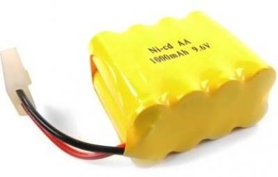 Batéria GPX Extreme 9.6V 1000mAh Ni-Cd Tamiya