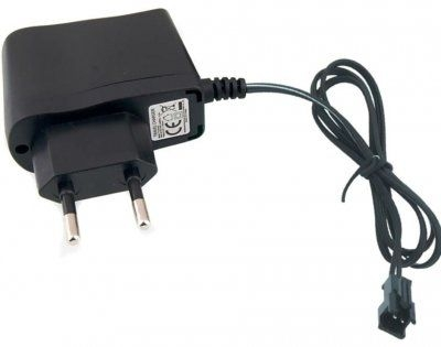 Náhradná sieťová nabíjačka, 4,8V 250mA SM  NiCd / NiMh