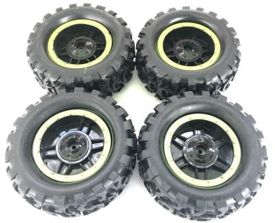 Náhradný diel HB: ROCK CRAWLER 4WD 1:14, kolesa zelené 4ks