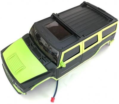 Náhradný diel HB: ROCK CRAWLER 4WD 1:14, kabína zelená