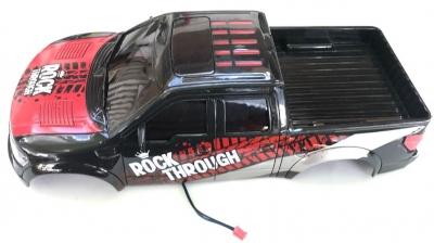 Náhradný diel HB: ROCK CRAWLER 4WD 1:14, kabína červená