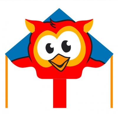 Šarkan Invento, Ecoline: Simple Flyer Owl 120 cm,  jednolanový
