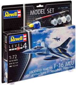 Plastikový model na lepenie Revell F-16 MLu 100th Anniversary Model Set 1/72, 63905
