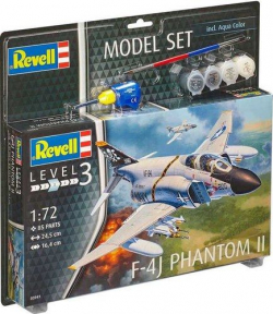 Plastikový model na lepenie Revell F-4J Phantom II Model Set 1/72, 63941
