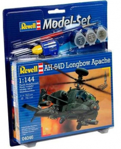 Plastový model na lepenie Revell Model Set AH-64D Longbow Apache Model Set 1/144, 64046