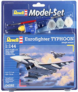 Plastový model Revell Eurofighter Typhoon Model Set 1/144, 64282