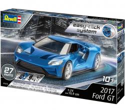 Plastový model na skladanie Ford GT 2017 easy click 1/24, 67678