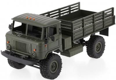 RC Vojenský nákladný automobil na diaľkové ovládanie WPL B-24, 4x4, 2.4GHz