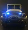 RC Vojenský nákladný automobil na diaľkové ovládanie WPL B-16, 6x6, 2.4GHz žltý