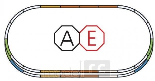 PIKO Traťový set E pre elektrický vláčik 55340
