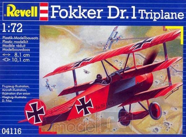 Fokker Dr.1 Triplane 04116