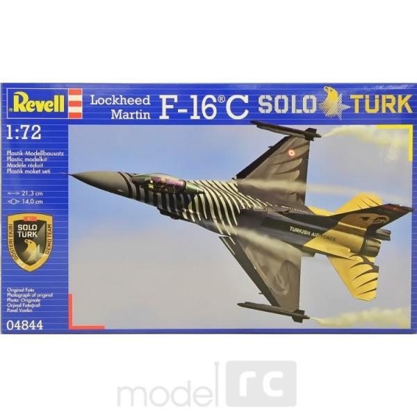Plastový model Revell F-16 C Solo Türk Model Set, 64844