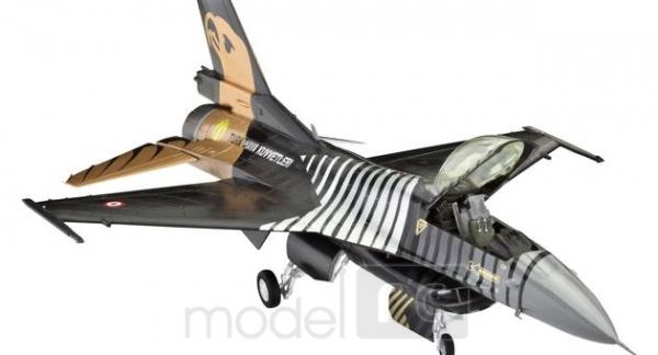 Plastový model Revell F-16 C Solo Türk Model Set, 64844