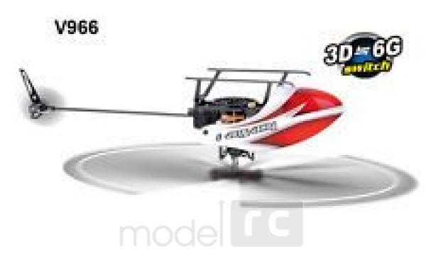 RC vrtuľník WLtoys V966 Power Star 1, 3D, 6 ch, Flybarless