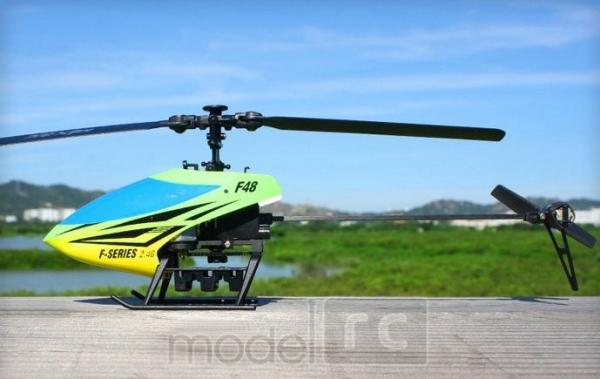 RC vrtuľnik na ovládanie MJX F-48, F48, 4ch, 2.4GHz, modrý