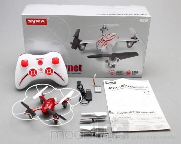 RC dron na ovládanie Syma X11c, HD kamera 2MP, 4CH 2,4GHz, bielá