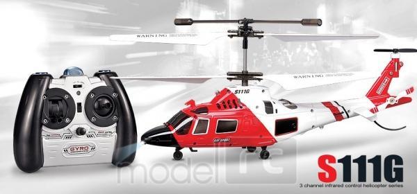 RC vrtuľník na diaľkové ovládanie Syma S111G