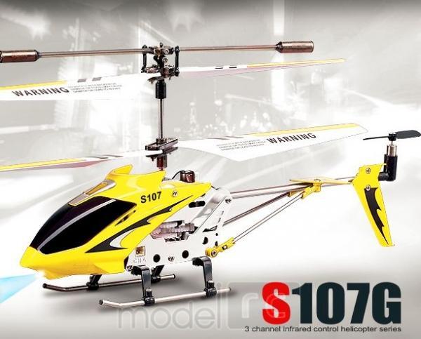 RC vrtuľník Syma S107G, žltý