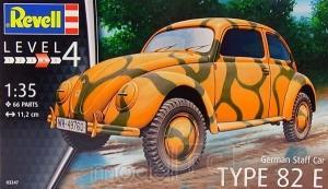 Plastikový model Revell German Staff Car Type 82E 1/35, 03247
