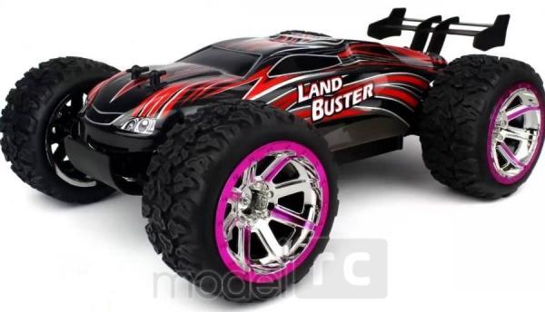 RC hračka na diaľkové ovládanie NQD Land Buster 1:12 Monster Truck červený