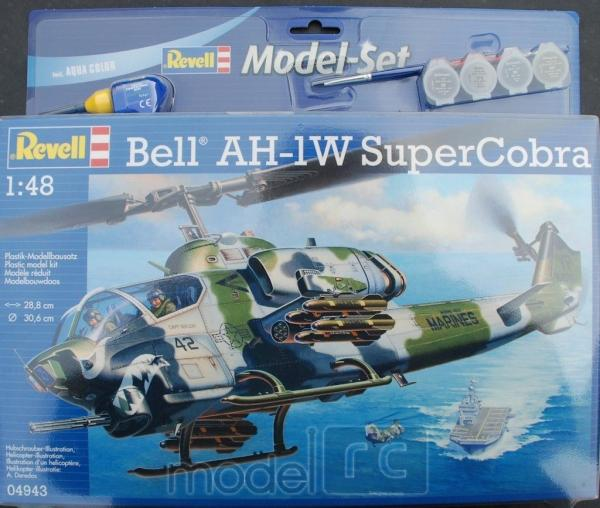 Plastový model AH-1W SuperCobra Model Set 1/48, 64943