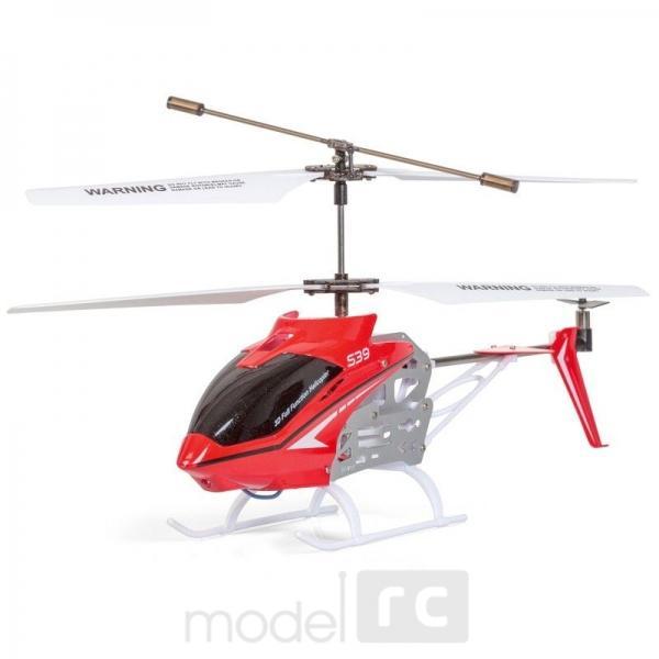 RC helikoptéra na diaľkové ovládanie Syma S39 Raptor  červená