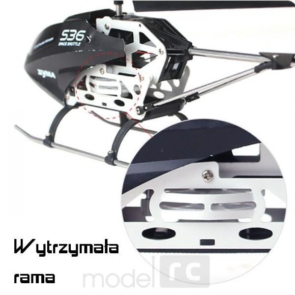 RC vrtuľník na diaľkové ovládanie Syma S36, 2,4GHz, bielý