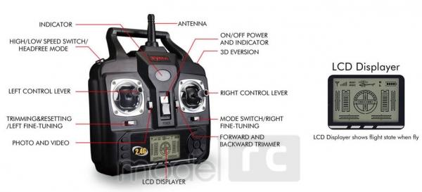 RC kvadrokoptéra Syma X5SW Explorers 2, WiFi FPV, kamera HD, 2.4GHz čierná