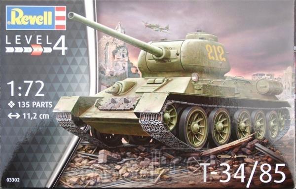 Plastikový model Revell T-34/85, 03302
