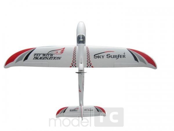 RC lietadlo na diaľkové ovládanie SKY SURFER 1400, RTF, 2,4 GHz