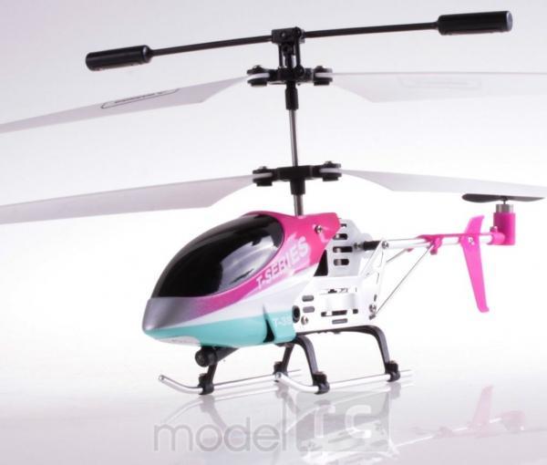 RC vrtuľník na diaľkové ovládanie MJX T38 / T638 / T-38 ružový