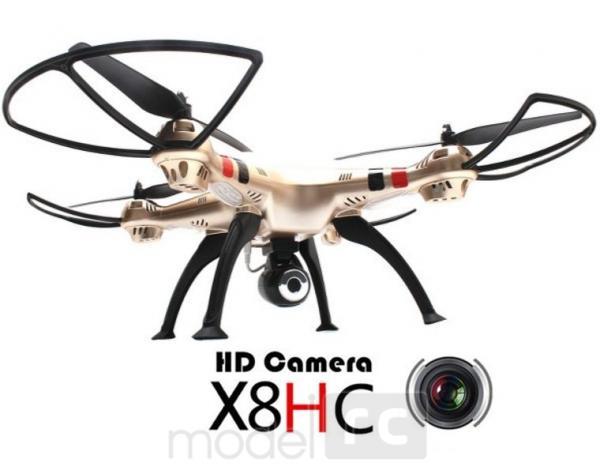 RC kvadrokoptéra Syma X8HC, kamera 2MP, 2.4GHz