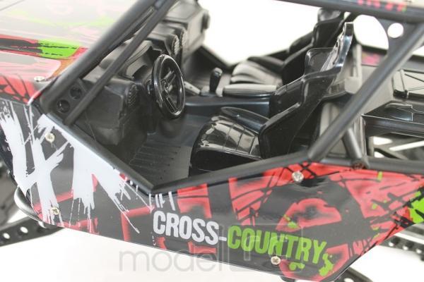 ROCK CRAWLER 4WD, 2.4 GHz, 1:10 červená
