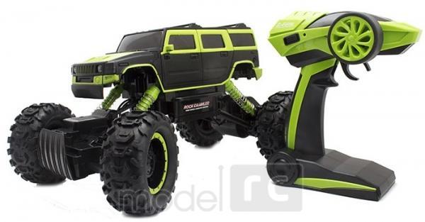 ROCK CRAWLER 4WD, 2.4 GHz, 1:14 zelená