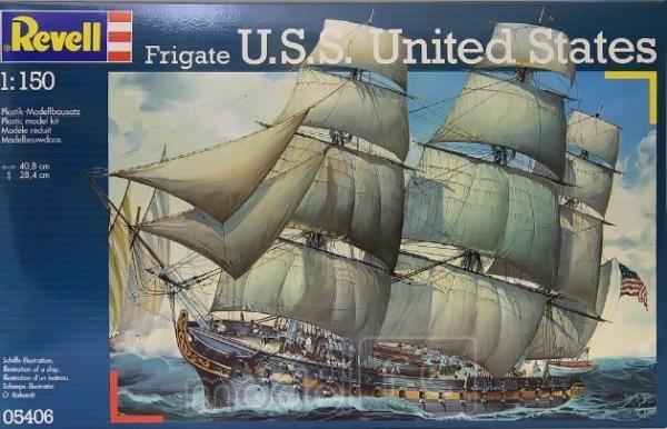Revell U.S.S. United States 1/150, 05406