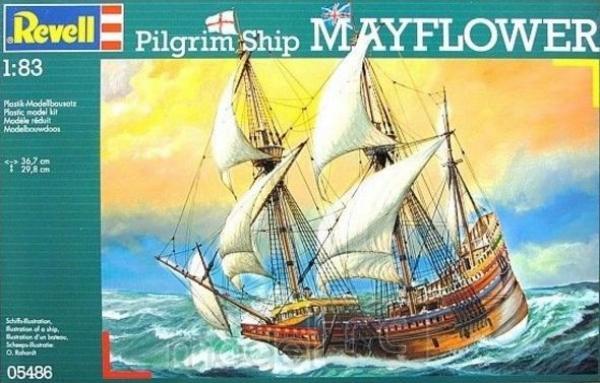Revell Pilgrim Ship MAYFLOWER, 05486