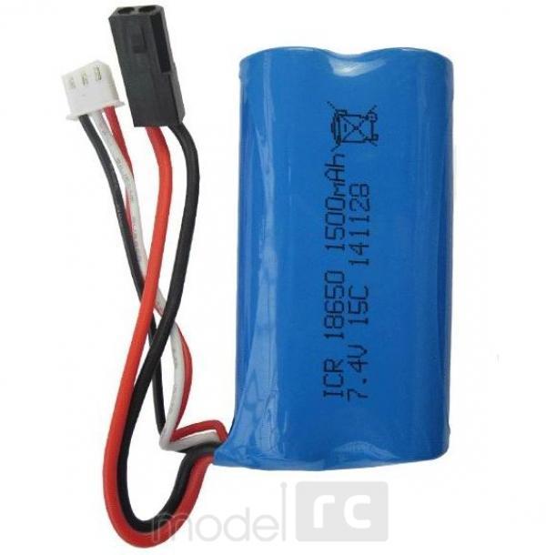 Náhradná batéria MJX F49, F39, T40c, T55, 7.4V 1500mAh Lion