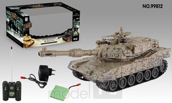 American M1A2 1:28 2.4 GHz RTR