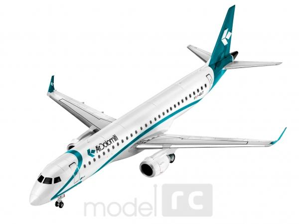 Plastový model Revell Embraer 195 Air Dolomiti ModelSet 1/144, 64884