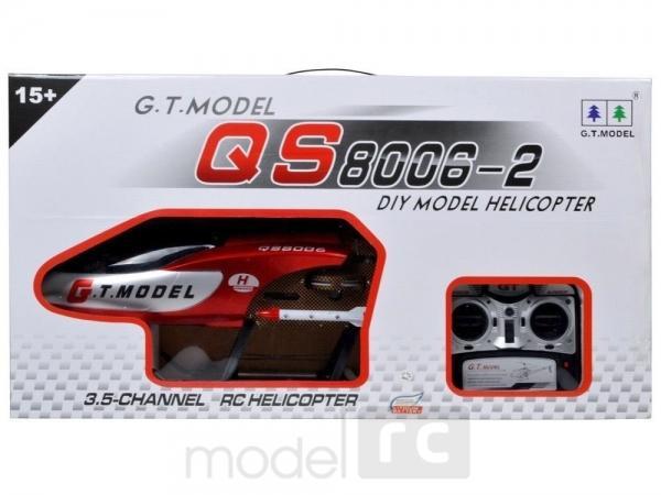 RC vrtuľník G.T. Model: Helikopter QS8006 - gigant 134cm!