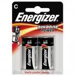 Alkalická batéria Energizer Alkaline POWER C, 2 ks