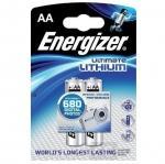 Lithiová batéria Energizer ULTIMATE LITHIUM AA 3000mAh 1.5V, 2 ks