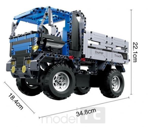 RC stavebnica na diaľkové ovládanie Double Eagle: Dump Truck 2.4GHz 1:14, C51017W