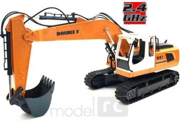Double Eagle: RC EXCAVATOR Heavy Industry 2.4GHz 1:20, E561-003