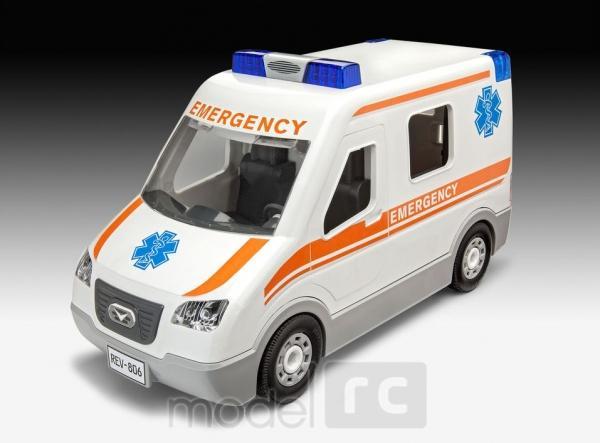Revell Ambulance Junior Kit 1/20, 00806