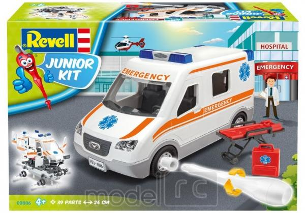 Revell Ambulance Junior Kit 1/20, 00806